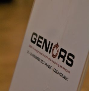 GENIORS Project meeting Prague November 2017